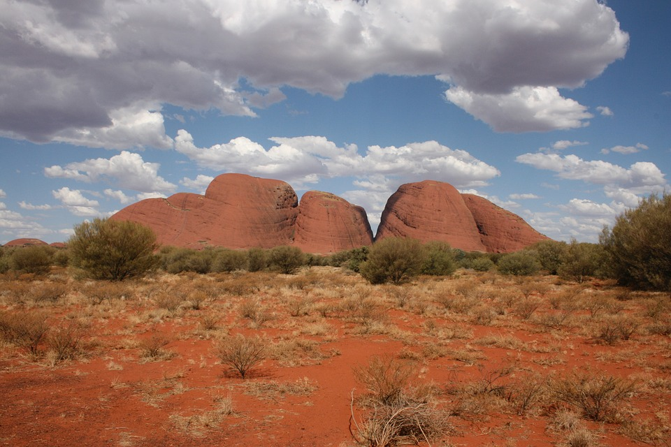 Olgas Landscape Australia Kata Tjuta Kata Tjuta