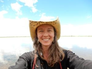 1 Author Beginning of Road Trip NE Colorado