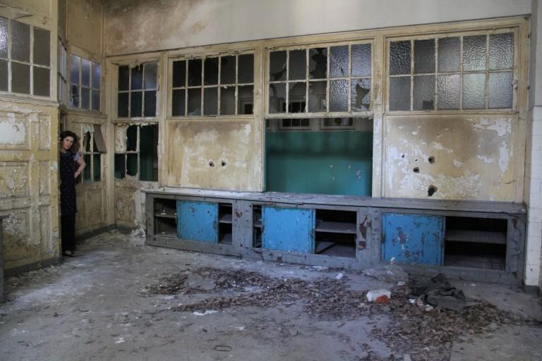 Interior ruin