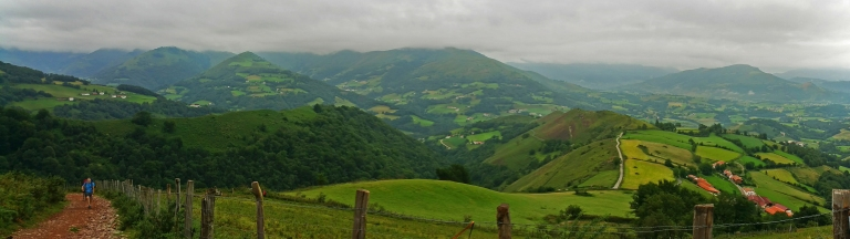 markwestwriter.com-Camino-de-Santiago-Day on- in the Pyrenees