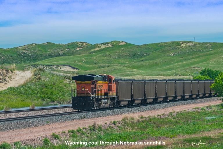 So many coal trains.5