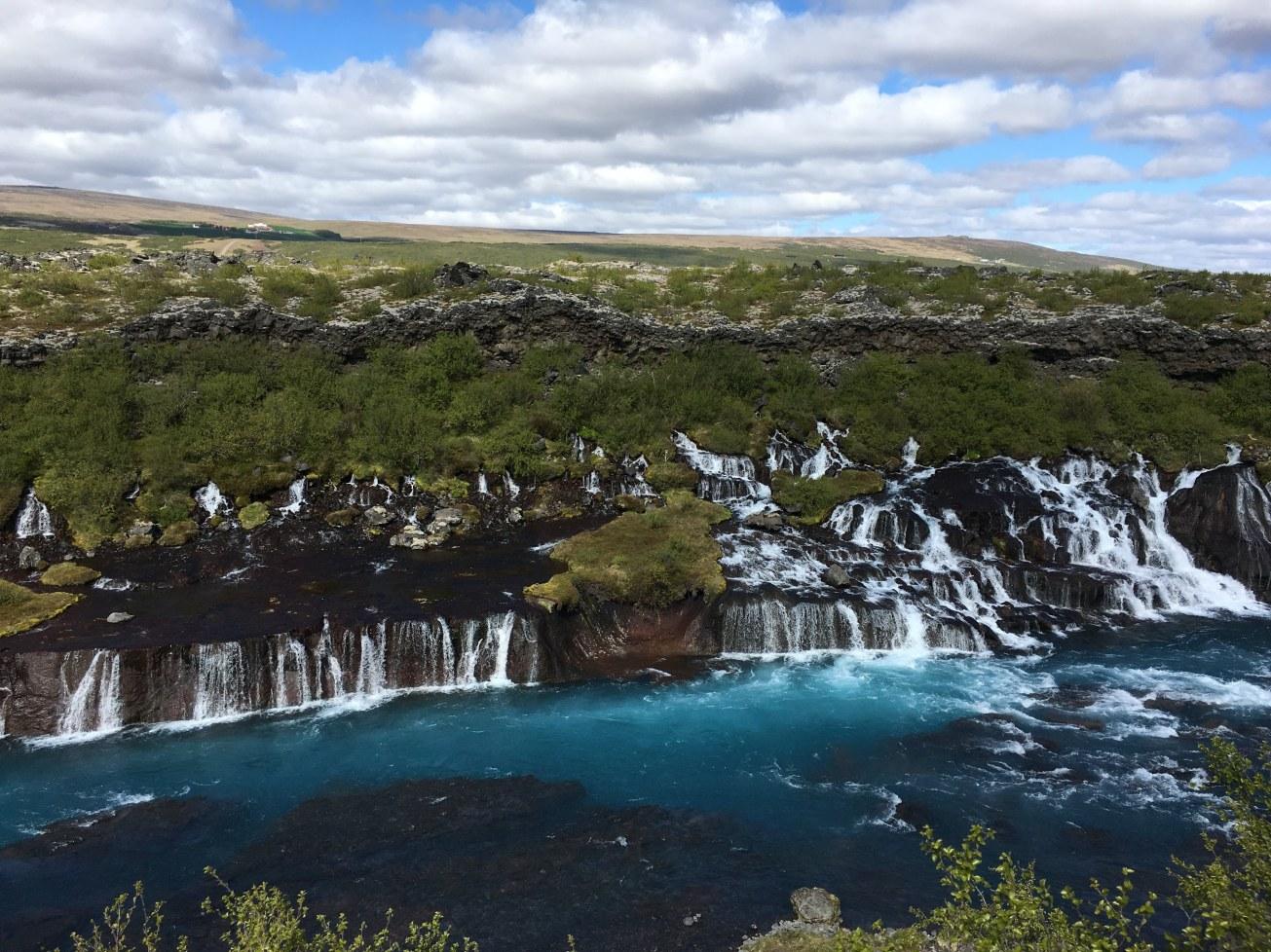 Hraunfossar_-_Lava_Falls