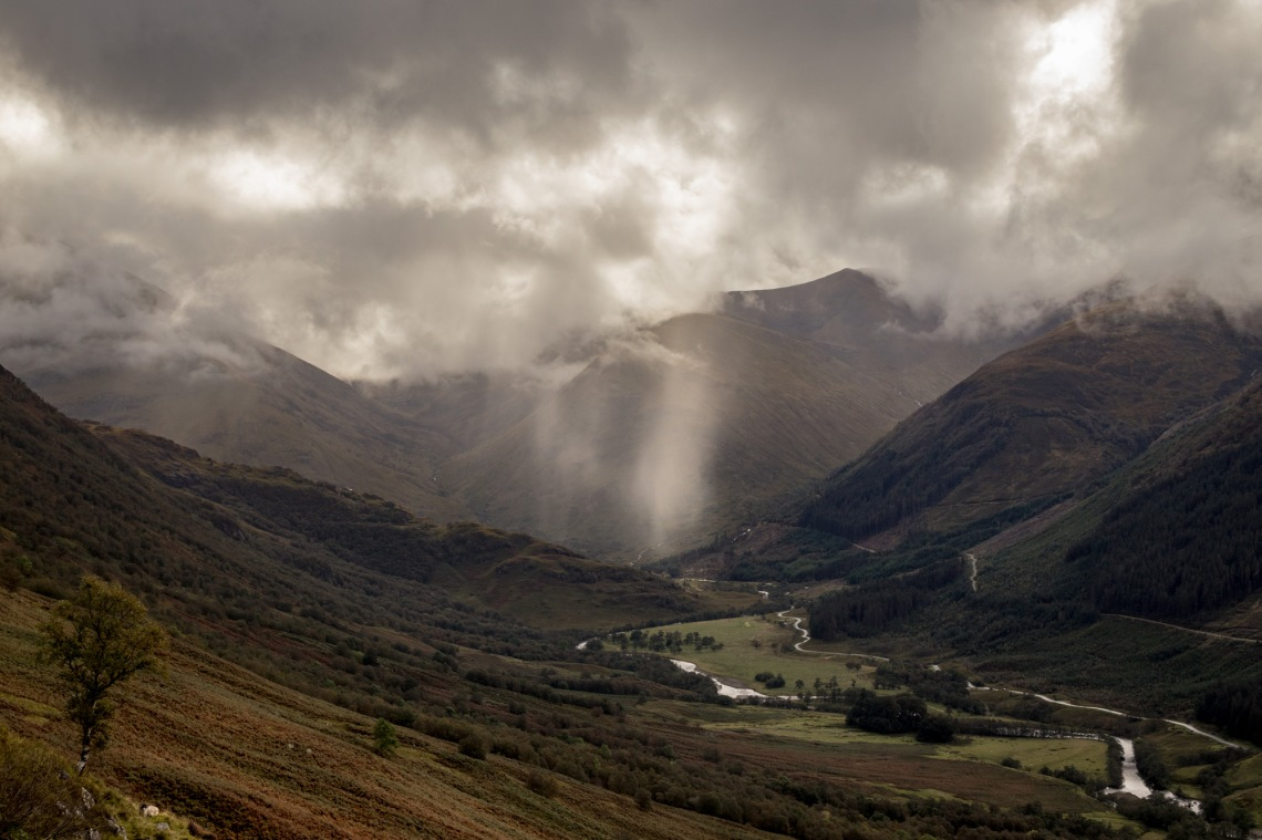 Descent From Ben Nevis